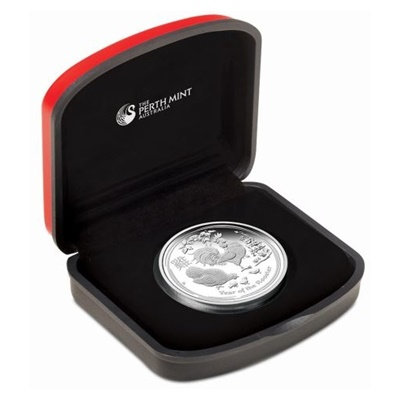 2017 1oz Silver Proof Coin - YEAR OF THE ROOSTER