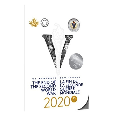 2020 75th Anniversary - End of the Second World War Coin Set